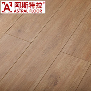 12mm Silk Surface White Oak Melamine Engineered Flooring Laminate Flooring (AY1701) pictures & photos