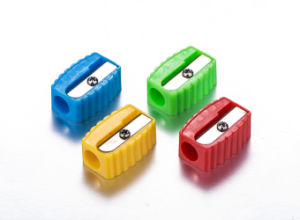 Student Cheap Fuuny Cute Plastic Pencil Sharpener pictures & photos