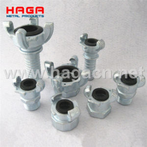 Haga Carbon Steel / Malleable Iron Air Hose Coupling Eurpean Type pictures & photos