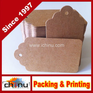Customized Paper Hang Tag Label (420019) pictures & photos