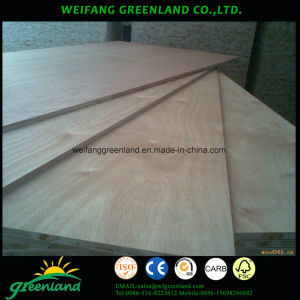 Oak Natrual Veneer Finished Block Board pictures & photos
