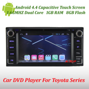 Android 4.4 Car DVD for Toyota Corolla Camry Yaris