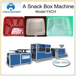 Plastic a Snack Box Making Forming Thermoforming Machine (YYCH90) pictures & photos