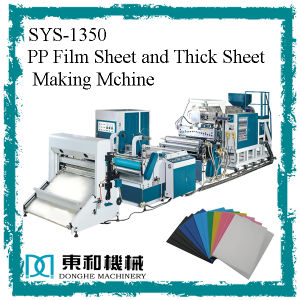 PP Film Sheet and Thick Sheet Making Machine pictures & photos