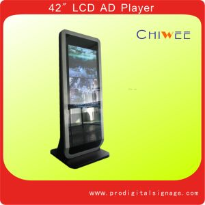 "2012 Latest Unique Design 42"" Free Stand LCD Digital Signage Display"