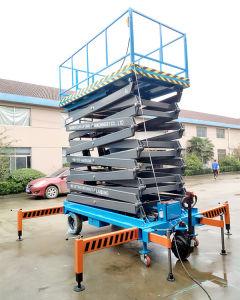 Semi-Electric Hydraulic Scissor Lift (SJZ0.5-16) pictures & photos
