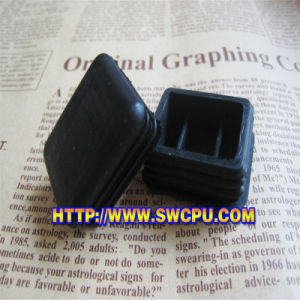 Hard Wearing Black PVC Square Plastic Cap for Pipe pictures & photos