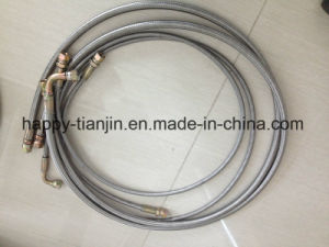 PTFE Lined Stainless Steel Braided Teflon Hose Pipe pictures & photos