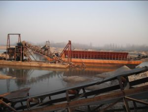 Sand Carrier Barge Sand Transport Barge pictures & photos