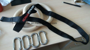 Rogue Style Wooden Training Gymnastic Rings pictures & photos