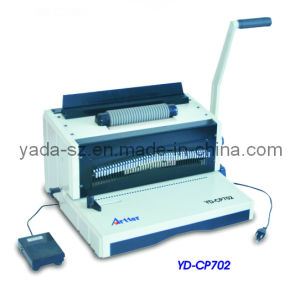 Coil Binding Machine (YD-CP702) pictures & photos