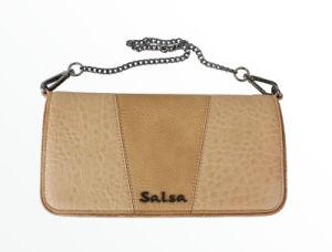 Iron Chain Zipper Wallet (E13150)