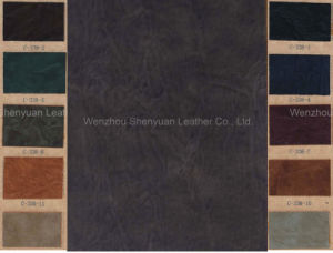PU Synthetic Leather for Shoe (C-338-3)