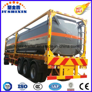 20FT 40FT Fuel/Water/Caustic Soda Tank Container for Sale pictures & photos