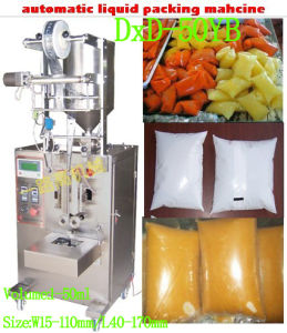 Liquid Paste Sauce Packing Machine (DxD-50YB) pictures & photos
