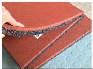 Waterproof Indoor Rubber Flooring Tiles Square Rubber Floor Tile Playground Rubber Flooring pictures & photos