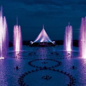 Multimedia Water Feature Music Fountain