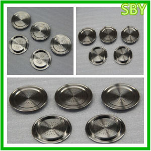 CNC Parts Hardware for Coffee Machine Bottom Cover (P003)