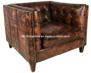 china latest high end vintage genuine leather sofa th731 china living room sofa sofa set. Black Bedroom Furniture Sets. Home Design Ideas