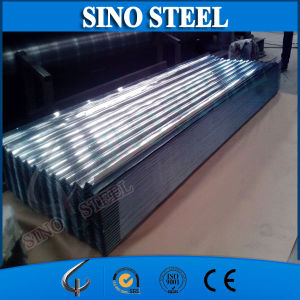 SGCC Galvanized Steel Roofing Sheet Price Corrugated Steel Sheet for Building (Z40 0.38*914) pictures & photos