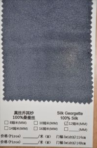 12mm Silk Georgette Fabric pictures & photos