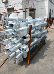 Galvanized Ground Helical Screw Piles pictures & photos
