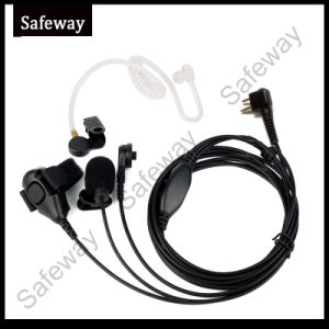 3 Wire Surveillance Kit Headset for Motorola Cp200 pictures & photos