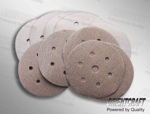 Hook & Loop Abrasive Discs (Yellow/ Pink/ Black Front Color) (109.10)