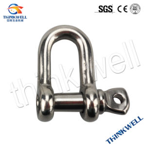 Galvanized Open Die Forging Stainless Steel European Type Dee Shackle pictures & photos