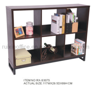Wooden Home Furniture Bookshelf (RX-S3075)
