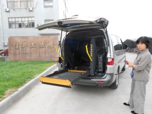 CE Electric Wheelchair Lift pictures & photos