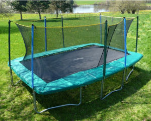 CE Safety The Most Popular Rectangular Trampoline pictures & photos