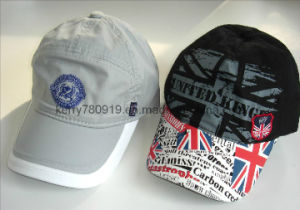 Micro Fiber Ppular Printing Polyester Caps pictures & photos