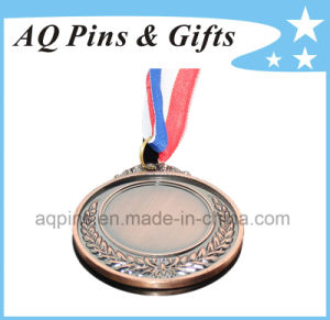 3D Antique Gold Medal with Ribbon pictures & photos