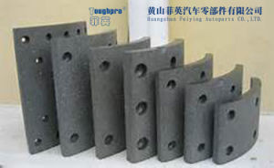 Brake Lining Asbestos and Asbestos Free on Ceramic and Semi- Metallic Formula pictures & photos