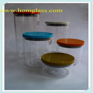 Glass Storage Jar for Kitchen pictures & photos
