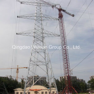 Power Distribution Long Span Combined Crossover Steel Tower pictures & photos