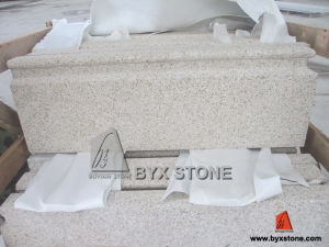 Golden Granite Moulding for Architectural Building Project pictures & photos