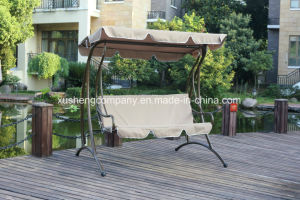 Deluxe Patio Swing Chair with Cushion pictures & photos