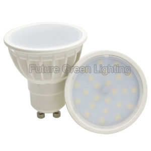 Cheapest Plastic 3W/5W GU10 2835SMD LED Spot Lamp pictures & photos
