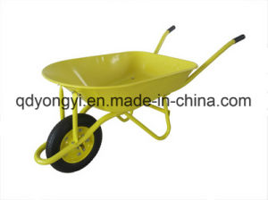 Heavey Duty Wheelbarrow for South America Market Wb8000g- Peru pictures & photos