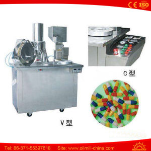 China Factory Small The Capsule Filler Filling Machine Price pictures & photos