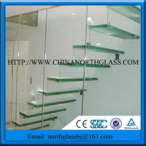10mm+1.52PVB/Sgp Interlayer+10mm Laminated Step Glass pictures & photos