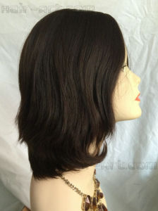 "100% Virgin European Hair Made Sheitels Kosher Wigs-12"" pictures & photos"