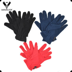 Cheap Price Classic Style Winter Warm Adult Fleece Glove pictures & photos