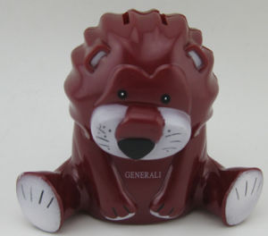 Plastic Money Box in Lion Shape pictures & photos