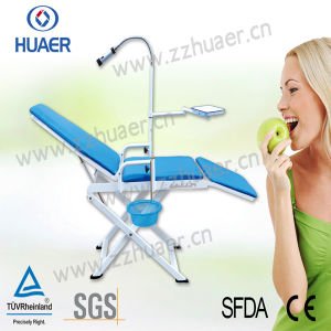 High Quality Portable Dental Chair Unit Mobile Dental Chair pictures & photos
