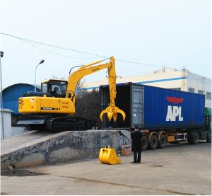 Shipping Excavator to United States pictures & photos