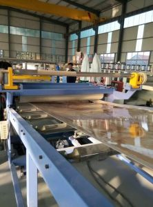PVC Marble Board Production Line / PVC Marble Board Making Machinery / PVC Marble Board Extrusion Machinery pictures & photos