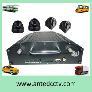 4 Channel Hard Disk Vehicle Mobile DVR with GPS 4G pictures & photos